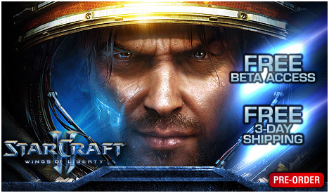 Pre order sc2 for sc2 beta key