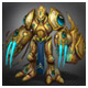 Zealot Avatar #3 for the Zealot Rank on Starcraft Replay